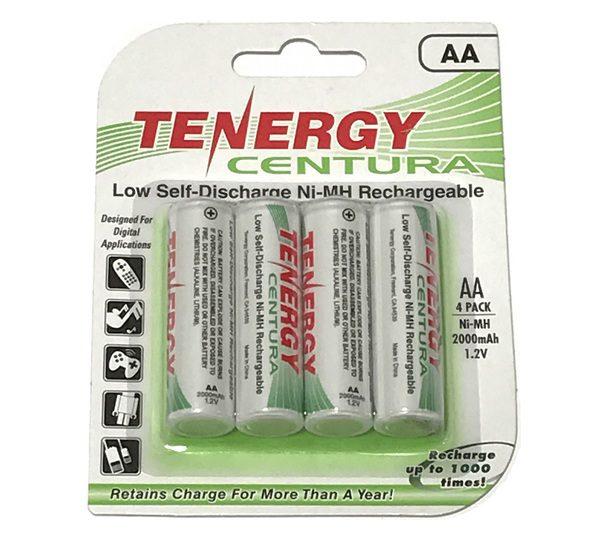 """Vantage Rechargeable """"AA"""" Batteries"""