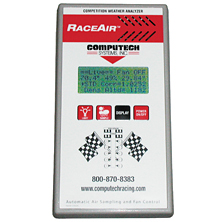 COMPUTECH RaceAir Competition Weather Analyzer
