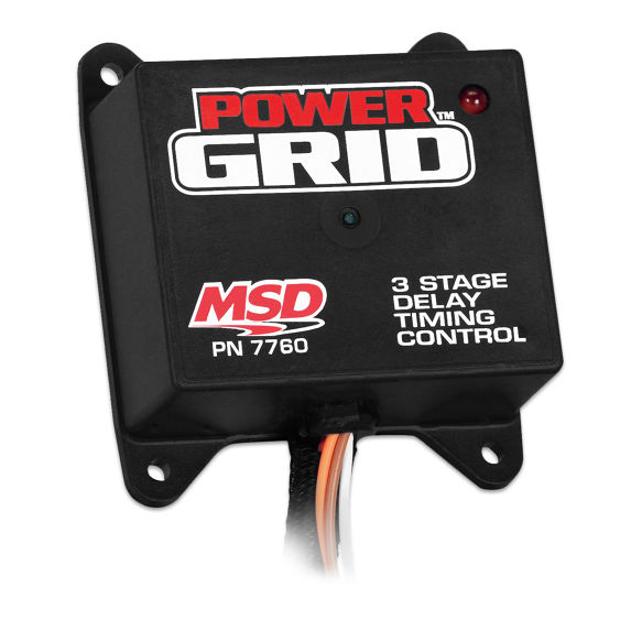 MSD - Power Grid Programmable 3 Stage Delay Timer